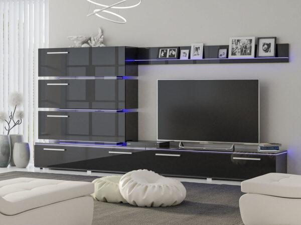 Living room «Dortmund» black