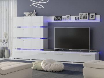 Living room «Dortmund» white
