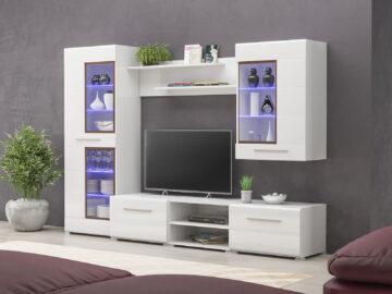 Living room «Obelisk» white