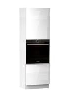 Кухня Cristal 3 Пенал под духовку низ 600 2Д ЛВ
