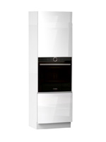Кухня Cristal 1 Пенал под духовку низ 600 2Д ЛВ