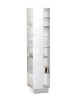 Кухня Cristal 3 Пенал-полки бокові 300 ПР