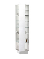Кухня Cristal 3 Пенал полки боковые 300 ЛВ
