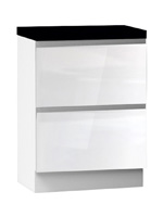 Кухня Cristal 3 Тумба низ 2Я 600 со скрытым ящиком