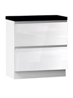 Кухня Cristal 3 Тумба низ 2Я 800 со скрытым ящиком