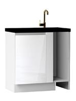 Кухня Cristal 2 Тумба-заглушка мойка низ 880 1Д ЛВ